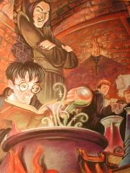 Hey, Harry is reading!