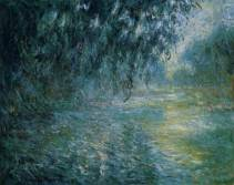 """Morning on the Seine in the Rain"" by Monet"