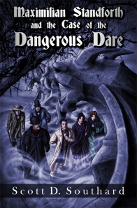 Maximilian Standforth and the Case of the Dangerous Dare, Cover