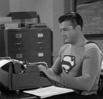 Even Superman writes!