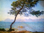 A Tree By Monet