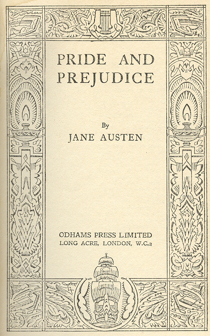 A critical review of the pride and prejudice by jane austen