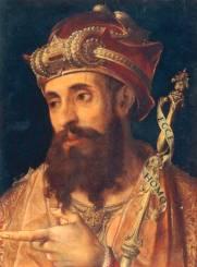 Pontius Pilatus / Gemaelde 16.Jh. - Pontius Pilate / Paint./ 16th cent. - Ponce Pilate / Peinture du XVIe siecle