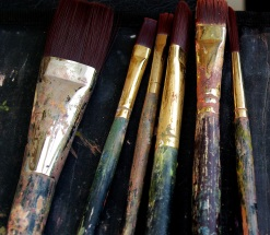 Messy Brushes