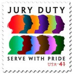 Jury Duty Stamp