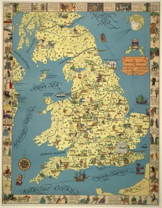 Literary Map of England