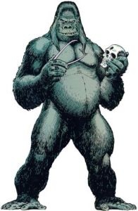 Gorilla and Hamlet