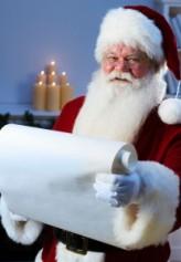 Santa Checking His List